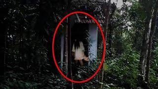 Real Ghost Caught on Camera in Forest House !! Mysterious Creature Footage 2018