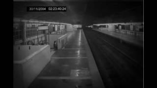 Scary Videos, Ghost Caught on CCTV at Railway station , Spooky Paranormal Footage - Real Ghost