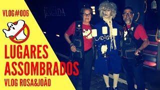SP Haunted Tour Vlog#006 Rosa&João - Caça Fantasmas Brasil