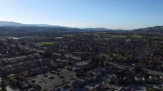 Drone graba un OVNI a velocidad supersónica sobre Silicon Valley