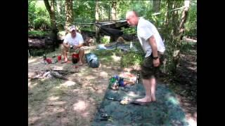 Over Night Canoe Trip With Crash Bushcraft On The South River Part 2