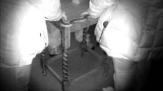 table tipping experiment (Ghost hunt)