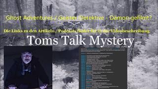 TomsTalkMystery - wenn es um paranormale Themen geht