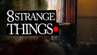 8 Mysterious and Strange Events Caught on Tape