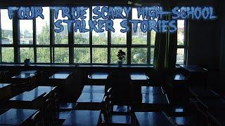 4 True Scary Highschool Stalker Stories (Ft. The Grim Reader)