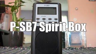 P-SB7 Spirit Box Tutorial + Mini Session!!