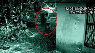 An Unexplained Being Following A Thief Seen From A Haunted Compound!! Scary True Ghost Video!!