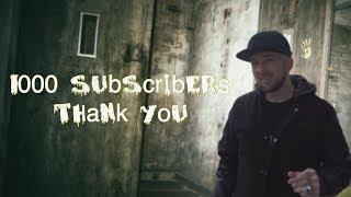 1000 SUBSCRIBERS THANK YOU!