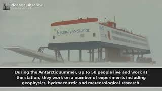 Giant Humanoid Spotted At Antarctic Research Station?