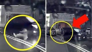 Video de Supuesta Teletransportación de Hombre se hace Viral   China 2017