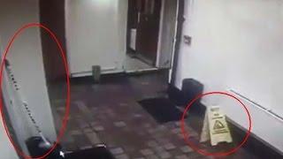 Espeluznante vídeo muestra fenómenos paranormales en un pub de Gran Bretaña