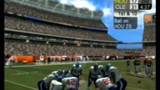 nfl 2k5 season mode 2016 Cleveland Browns vs Houston Texans (full game) AFC Battle