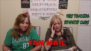 FAN MAIL OPENING... WHAT GREAT FAN'S WE HAVE