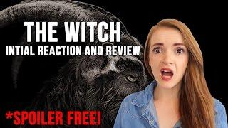 The Witch (2016) Review and Reaction SPOILER FREE!