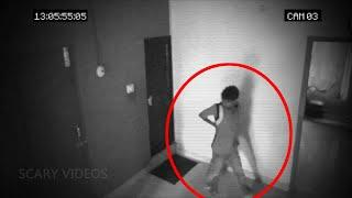 A Shadow Passing By Caught On Camera!! Real Ghosts!!