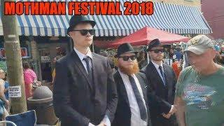 Mothman Festival 2018 (Point Pleasant, West Virginia) Fallout 76 Mothman Museum Town