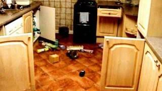Poltergeist Activity Caught on Tape. VIOLENT PARANORMAL ACTIVITY!
