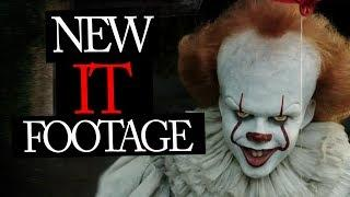 NEW IT 2017 Footage Teaser Trailer and Pennywise speaks!