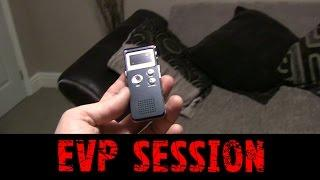 EVP Session In My Haunted House - Real Paranormal Activity Part 37