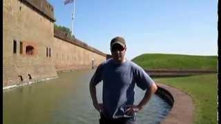 Virginia Paranormal Investigations at Fort Pulaski in Savannah, GA
