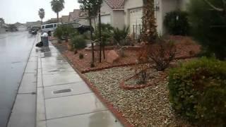 Weird Weather Jan. 3rd 2011 Las Vegas