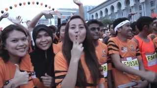 TM Fan Run 2013 #FanRun2013 #TeamMsiaBoleh