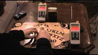ouija board session with hack shack radio with responses I mel 8704 rem