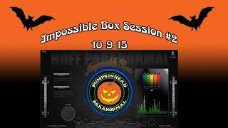 IB-1 Impossible Box Ghost Box Session #2 on 10-9-15