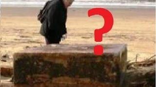 Strange boxes spark UFO rumors   Strange Metal Boxes On Oregon Coast
