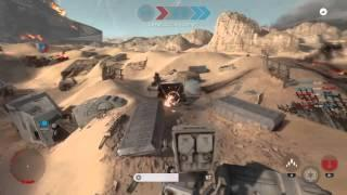 The battle of jakku! Star wars battlefront ep2