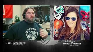 Amy Dumas (WWE's Lita) FULL Interview Segment │ SSC 537