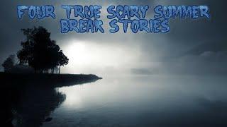 4 True Scary Summer Break Stories (Ft. Killer Orange Cat)