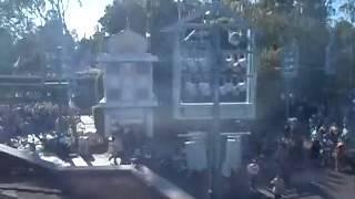 Disneyland Monorail ride, part:3 final destiatination.