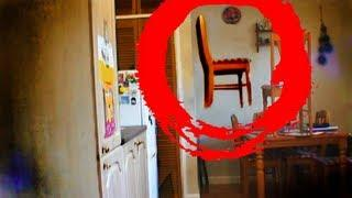 Poltergeist Caught Stacking Chairs on Video. Unbelievable Paranormal Activity