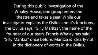 San Diego Ghost Hunters   Whaley House Tour   October 18th 2014   Silly Maritza
