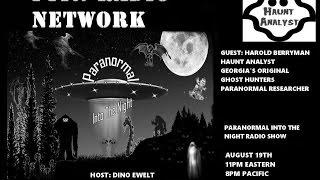 Paranormal Into The Night Demonology Haunt Analyst Harold Berryman