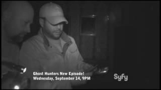 "New Ghost Hunters On September 14th ""Quarantine Room"""