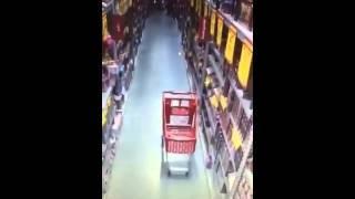 Haunted trolley New Zealand Warehouse Richmond