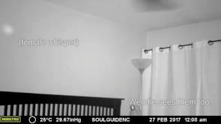 Haunted Bedroom Clips, old footage