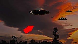 Amazing Massive UFO Fleet Seen In The Middle East!! New UFO Alien Ship Video!!