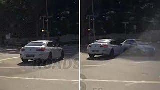 Un coche teletransportado provoca un accidente en Singapur