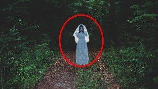 Ghost Caught On Camera Under Tree!! Mysterious Ghost Video