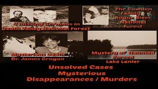 Unsolved Mysteries | Unexplained Haunting Disappearances | Unsolved Murders