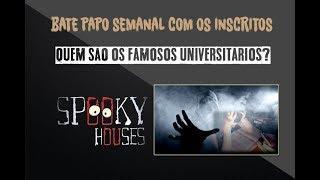 Assunto Spooky Semanal - Quem são os universitários?