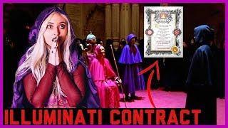 JOINING THE ILLUMINATI .. Signing The Illuminati Contract