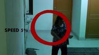Girl's Hostel CCTV Camera caught ghost| Girl get pushed by ghost Scary Videos