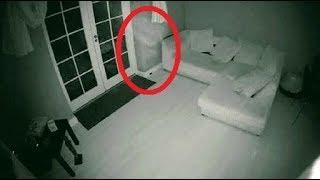 Fantasma es captado en cámara de seguridad