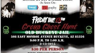 March Friday the 13th Group Ghost Hunt