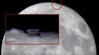 Possible Ancient Structure Spotted Near Moons North Pole