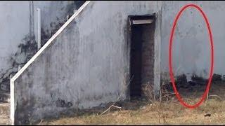 GHOST CAUGHT ON TAPE AT FACTORY AREA!!! Scary Videos